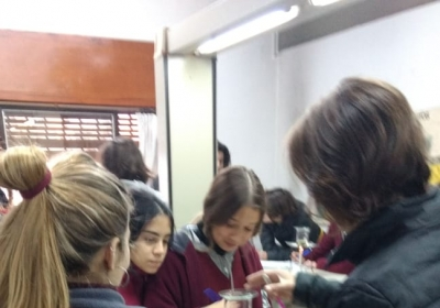 5to A: Experiencia en laboratorio